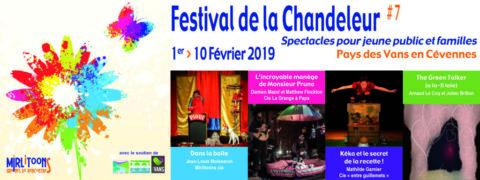 Trois membres du réseau Vivants au Festival de la Chandeleur 2019